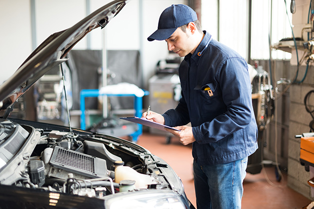 Vehicle inspection, Katy Texas